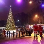 Москва прощается с «Рождественским караваном Coca-Cola» до следующего года