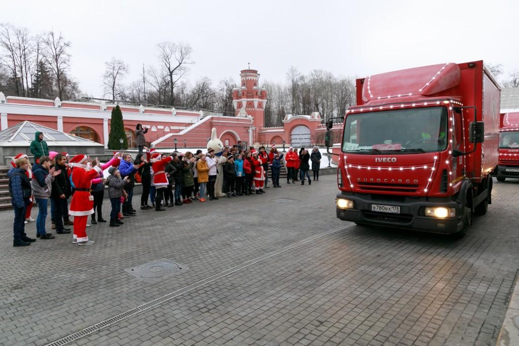 Старт Рождественского каравана Coca-Cola