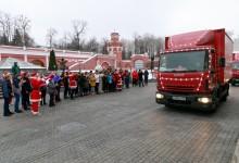 12 000 детей встретили «Рождественский караван Coca-Cola»