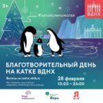 Благотворительный день на катке ВДНХ устроят 28 февраля