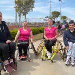 Стартовала серия международных турниров по теннису на колясках