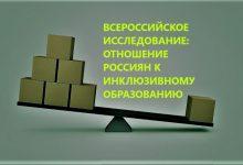ВЦИОМ опубликовал результаты всероссийского исследования, посвященного информированности россиян об инклюзивном образовании и отношении к нему.